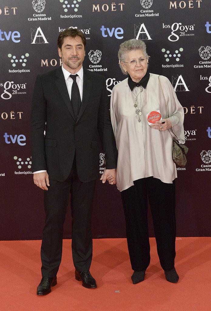 Javier Bardem and Pilar Bardem