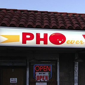The Funniest Pho Restaurant Names