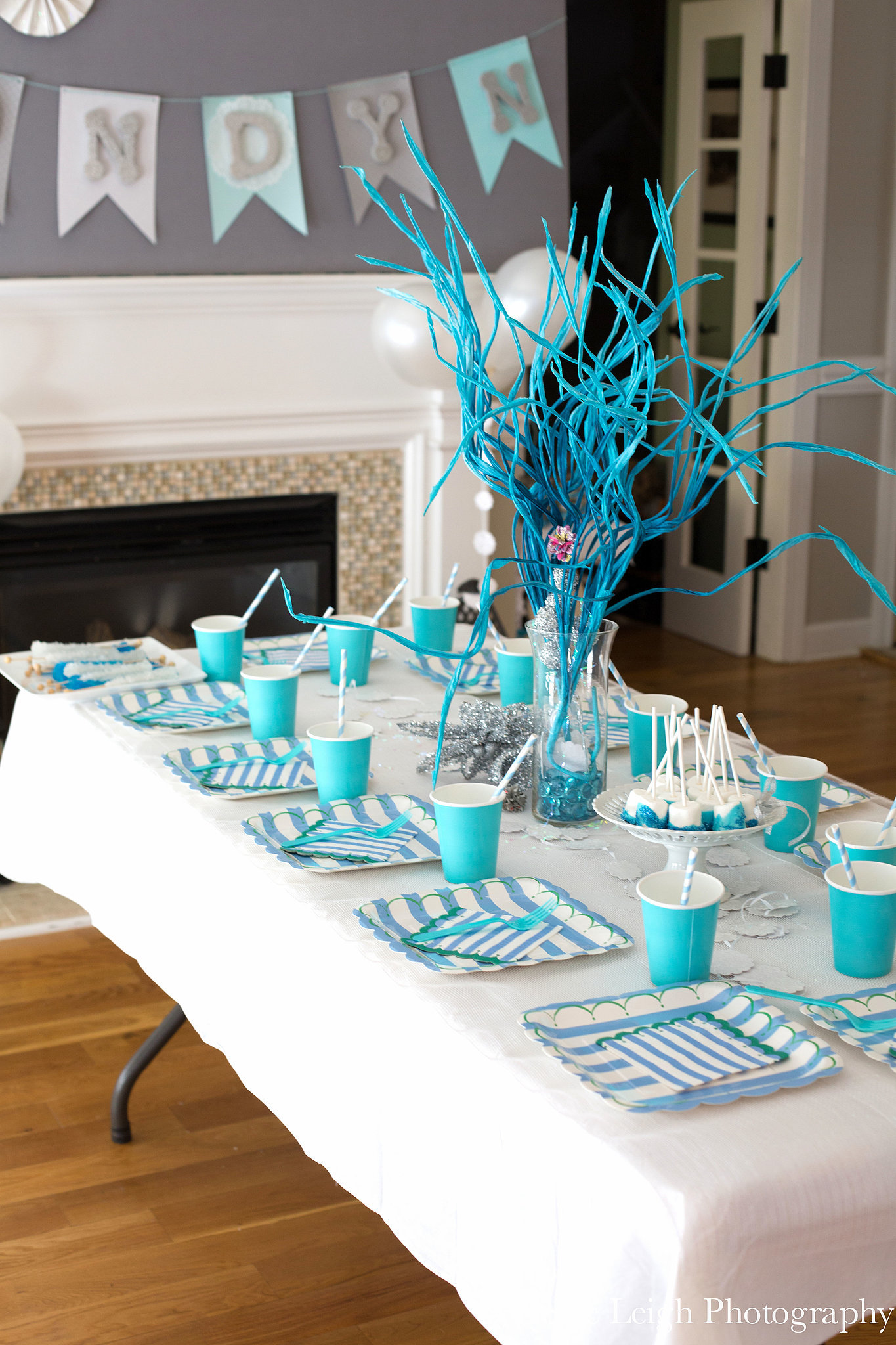 Color-Coordinated Table Settings