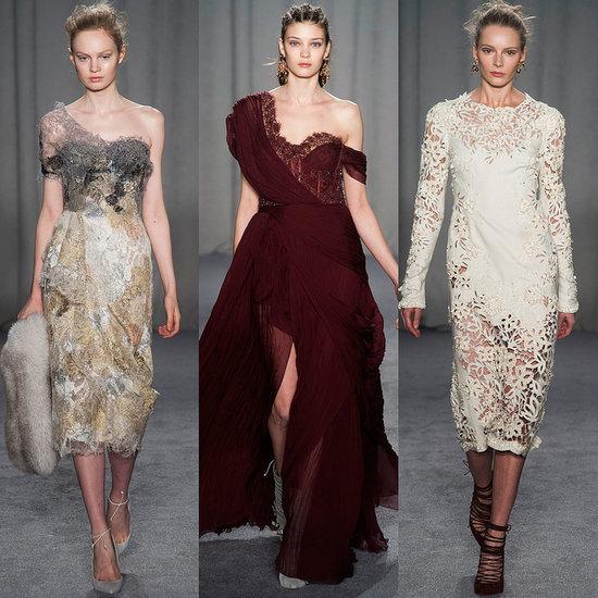 Marchesa Fall 2014 Runway Show   New York Fashion Week