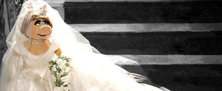 Guess Who Designed Miss Piggy's Wedding Dress?