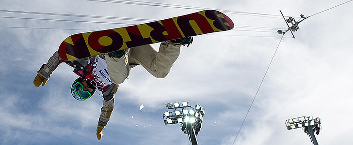 Snowboarder Arielle Gold Pulls Out of Halfpipe