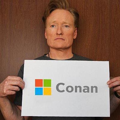 Conan O'Brien as Microsoft CEO