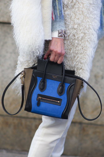 More proof that Céline might just be the official bag of the fashion crowd.