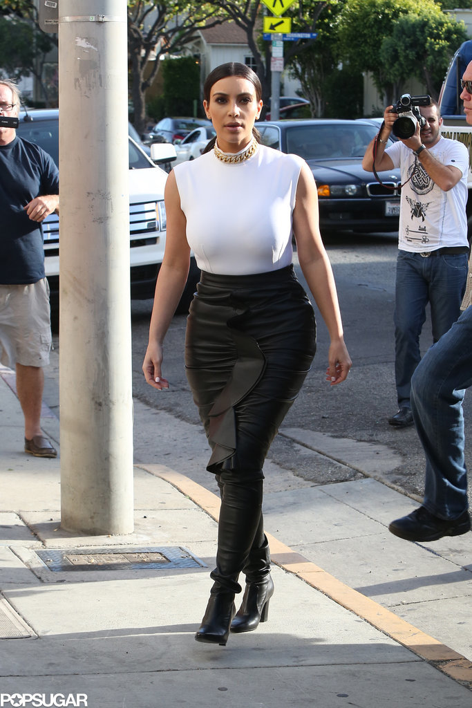 Kim Kardashian Must Be Sharing Mom Tips With Ciara