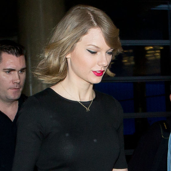 Taylor Swift's Lob Haircut
