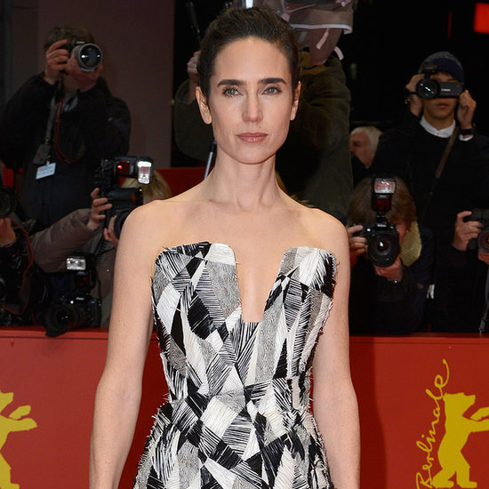 Jennifer Connelly in Black and White Chanel Dresses