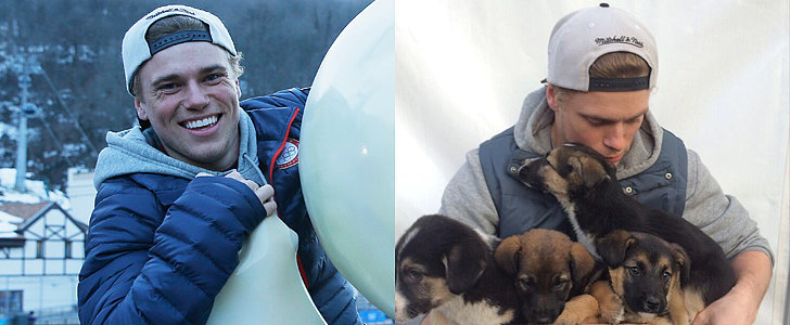 Swoon Over the Adorable Olympian Who's Saving Stray Dogs