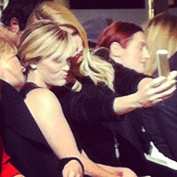 The Front-Row Selfie