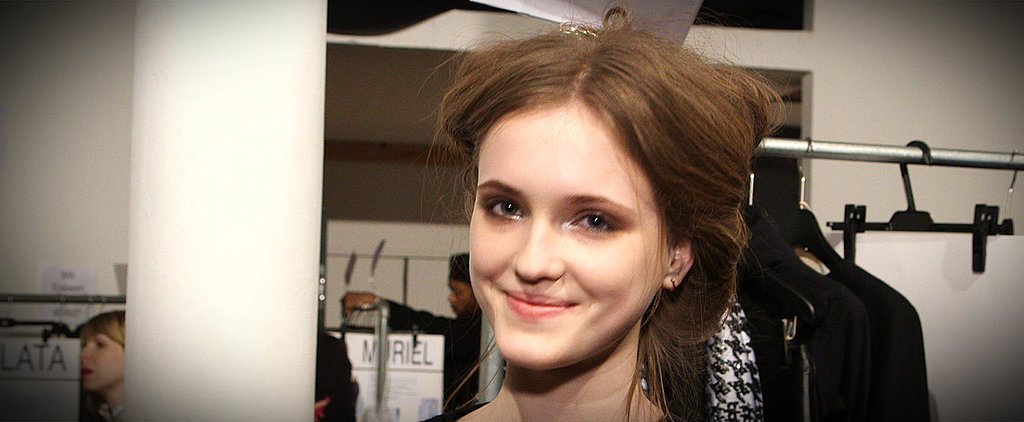 ICB by Prabal Gurung Shows Us How Static Hair Can Be Chic and Sexy