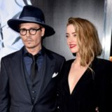 Amber Heard Officially Debuts Fiance Johnny Depp