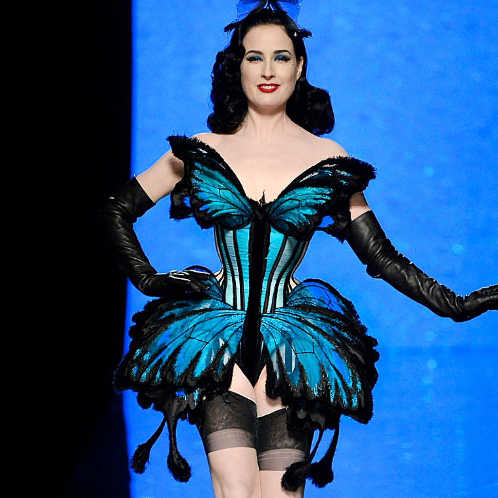 Dita Von Teese Lingerie Tips For Valentine's Day