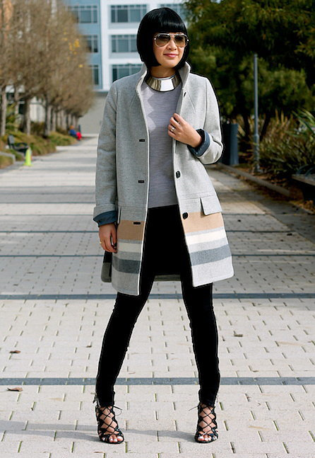 Congrats, teapea19! Making a statement with outerwear is one of our favorite things to do.