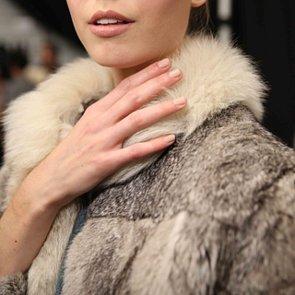 Nude Nail Trend Fall 2014   New York Fashion Week