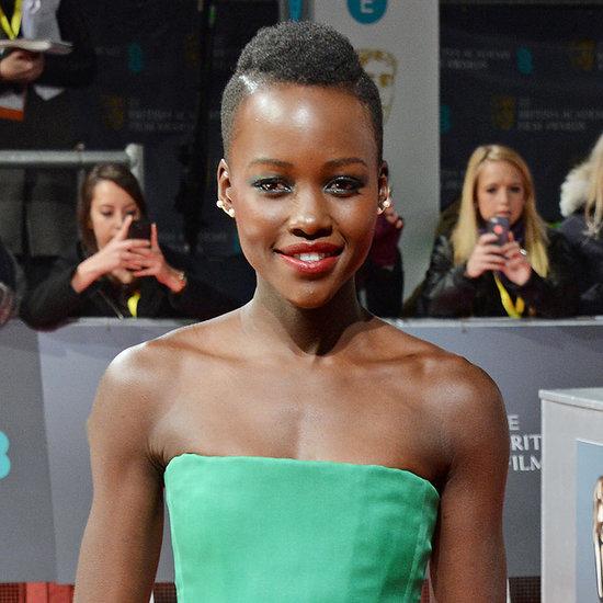 Lupita Nyong'o at the BAFTAs 2014 | Pictures