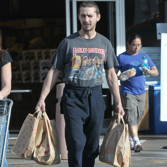 Shia LaBeouf Out in LA After Art Exhibition