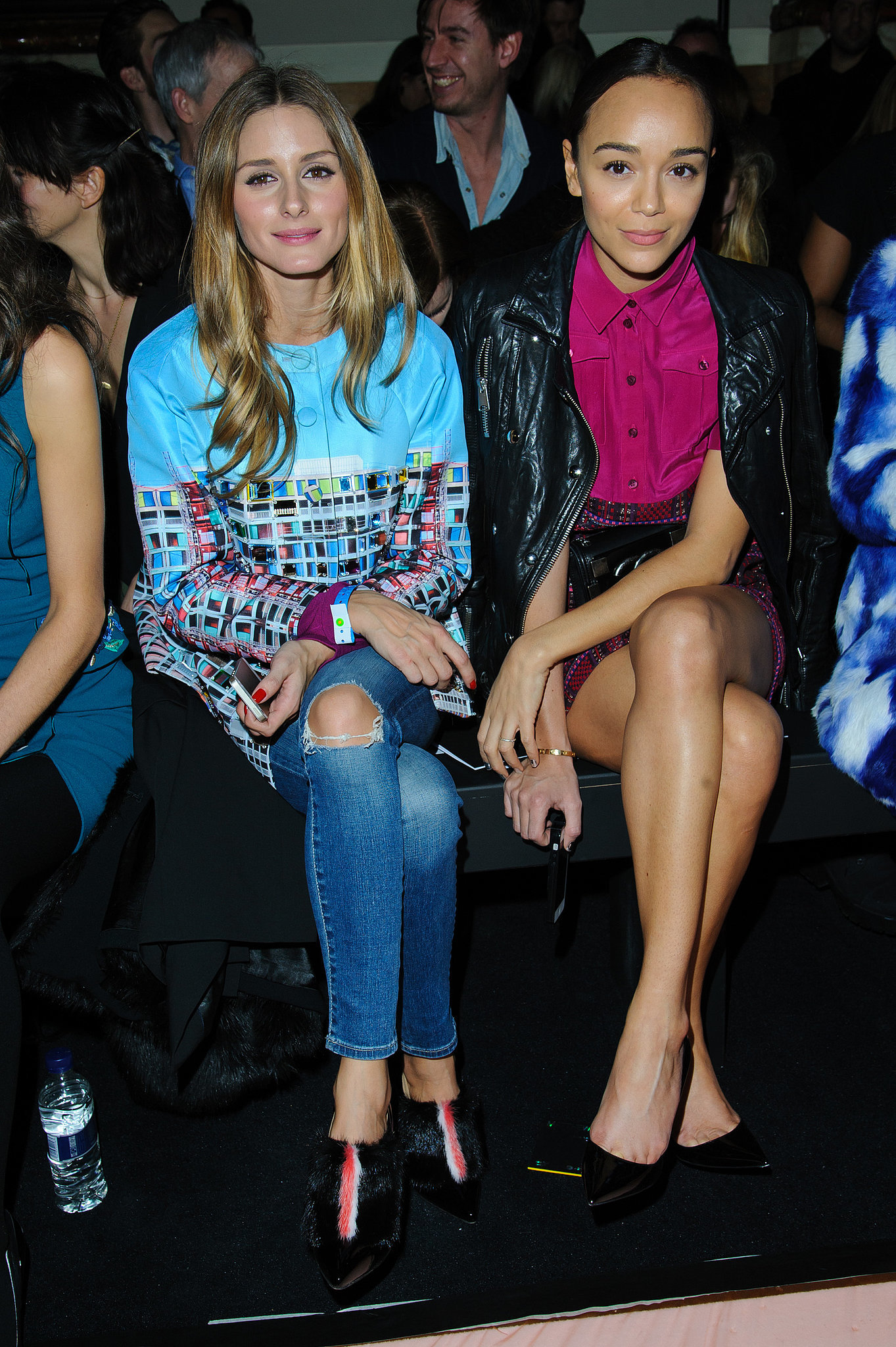 Olivia Palermo and Ashley Madekwe