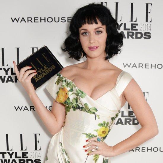 Katy Perry's Retro Bob at The 2014 Elle Style Awards