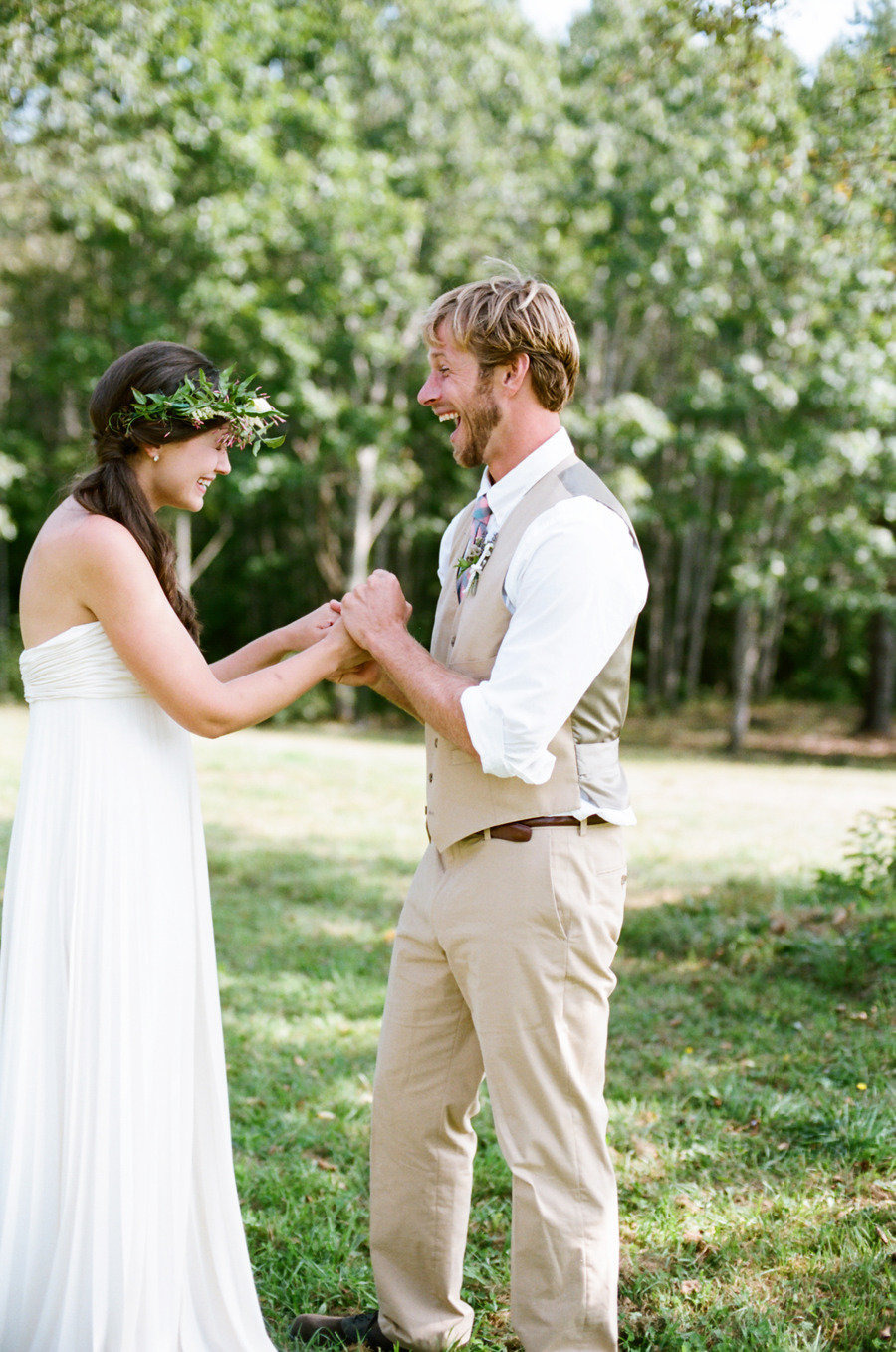 So sweet how happy they are.  Photo by White Loft Studio via Style Me Pretty