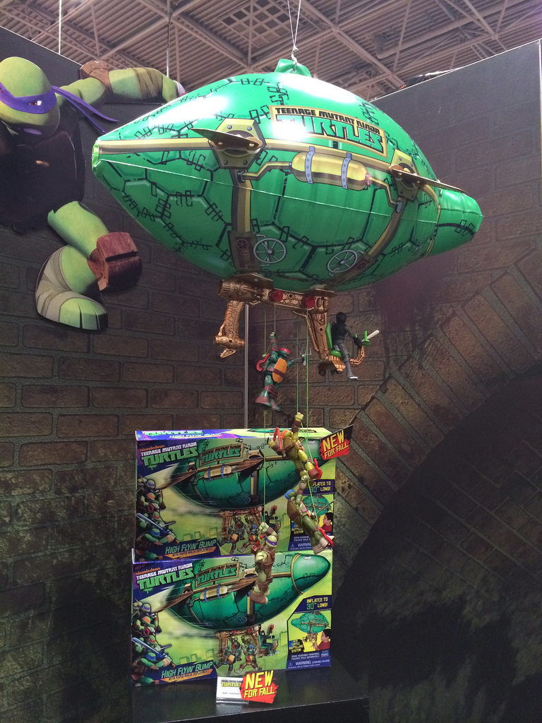 Teenage Mutant Ninja Turtles Blimp