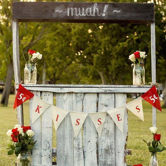 Wedding Kissing Booth