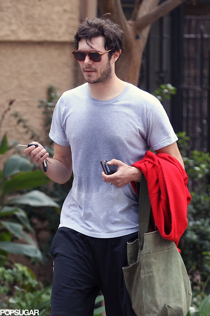 Adam Brody Steps Out Wearing His Wedding Ring!
