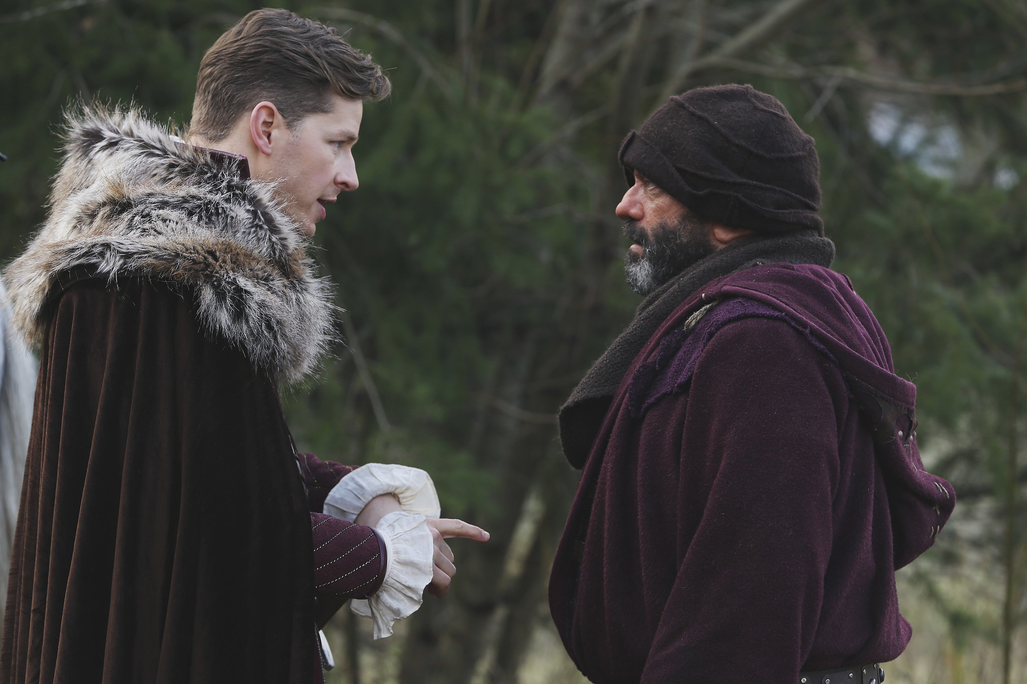 Charming and Grumpy have their own meeting.
