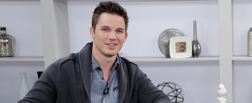 "Is Star-Crossed Star Matt Lanter a Real-Life Romantic? ""Ask My Wife!"""