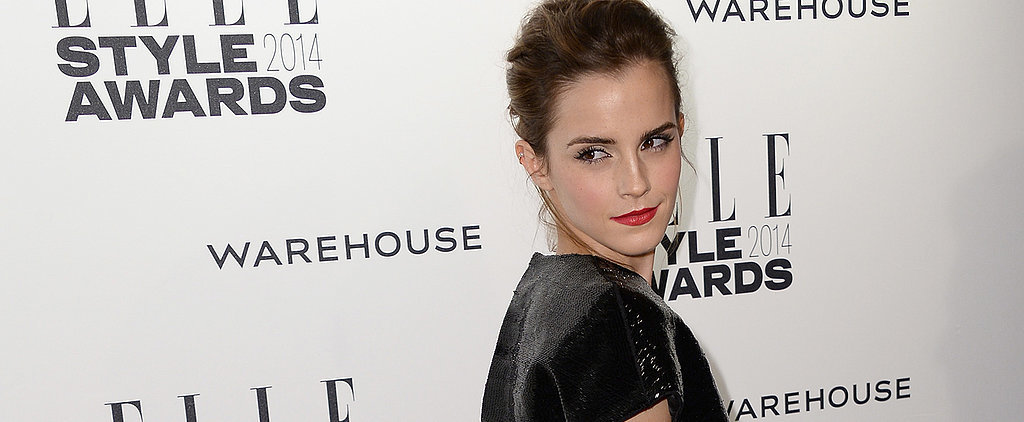 Emma Watson Brings Her Sexy Stare to the Elle Style Awards