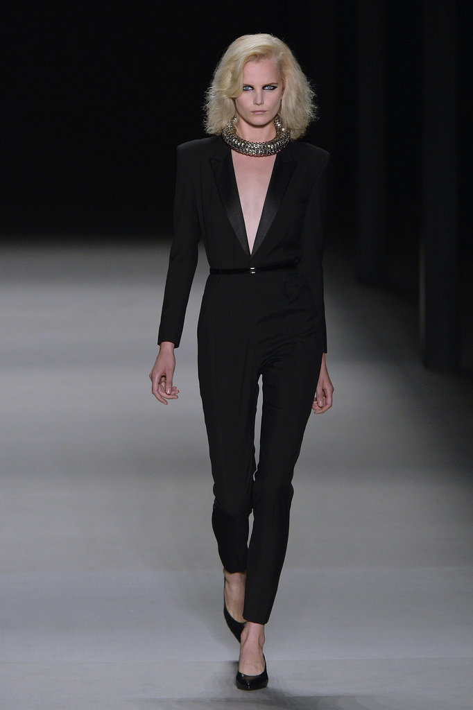 Anne Hathaway: Saint Laurent Fall 2014