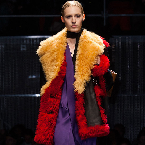 A Burst of Color From Prada's Fall 2014 Collection