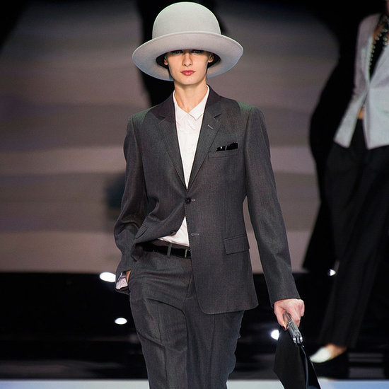 Armani Milan Fashion Week Autumn Winter 2014 Full Runway