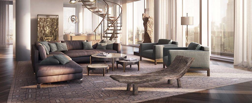 Inside Rupert Murdoch's $57 Million Penthouse