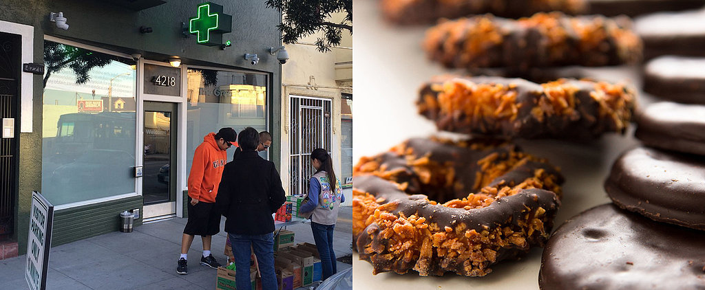 Brilliant Girl Scout Sets Up Shop Outside a Pot Club