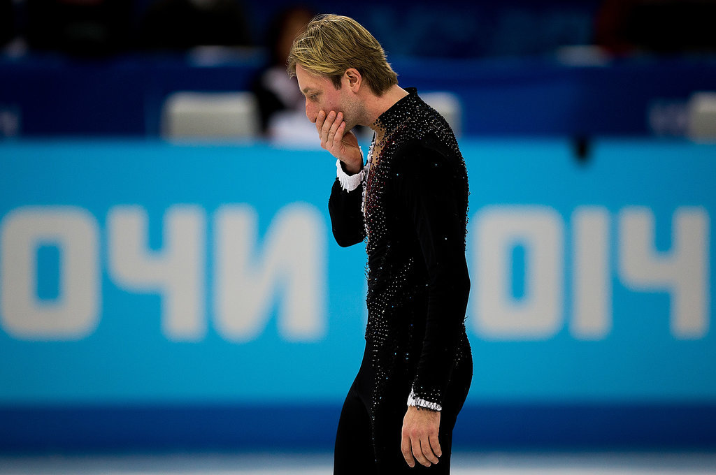 Plushenko Dropping Out of the Men's Figure Skating Competition