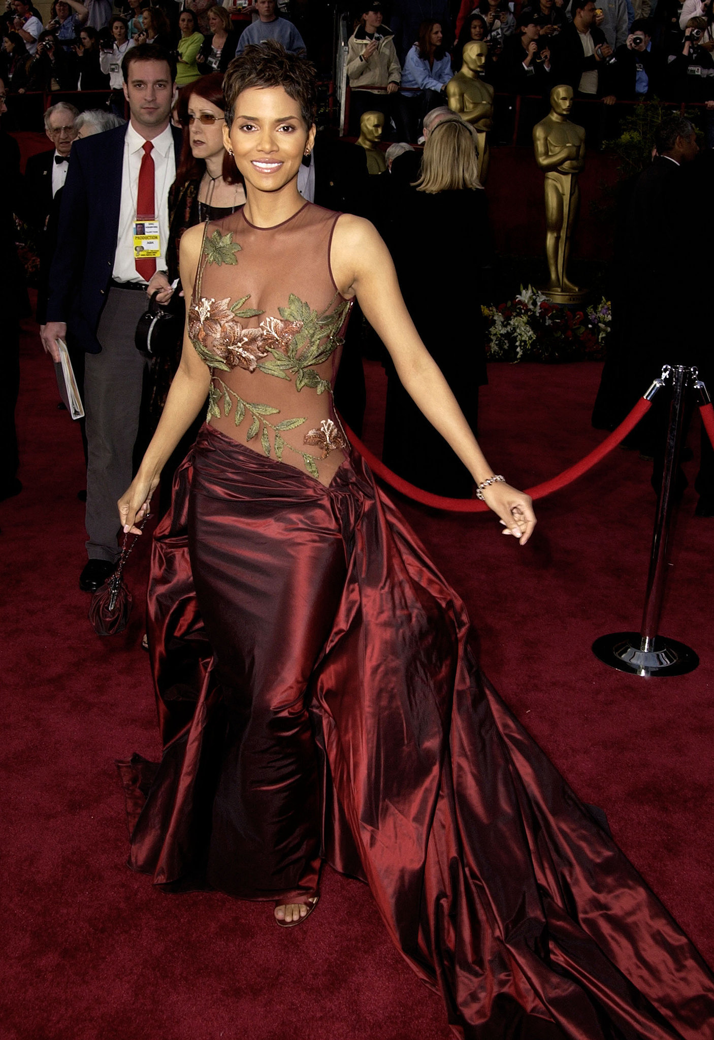 Halle Berry at the 2002 Academy Awards