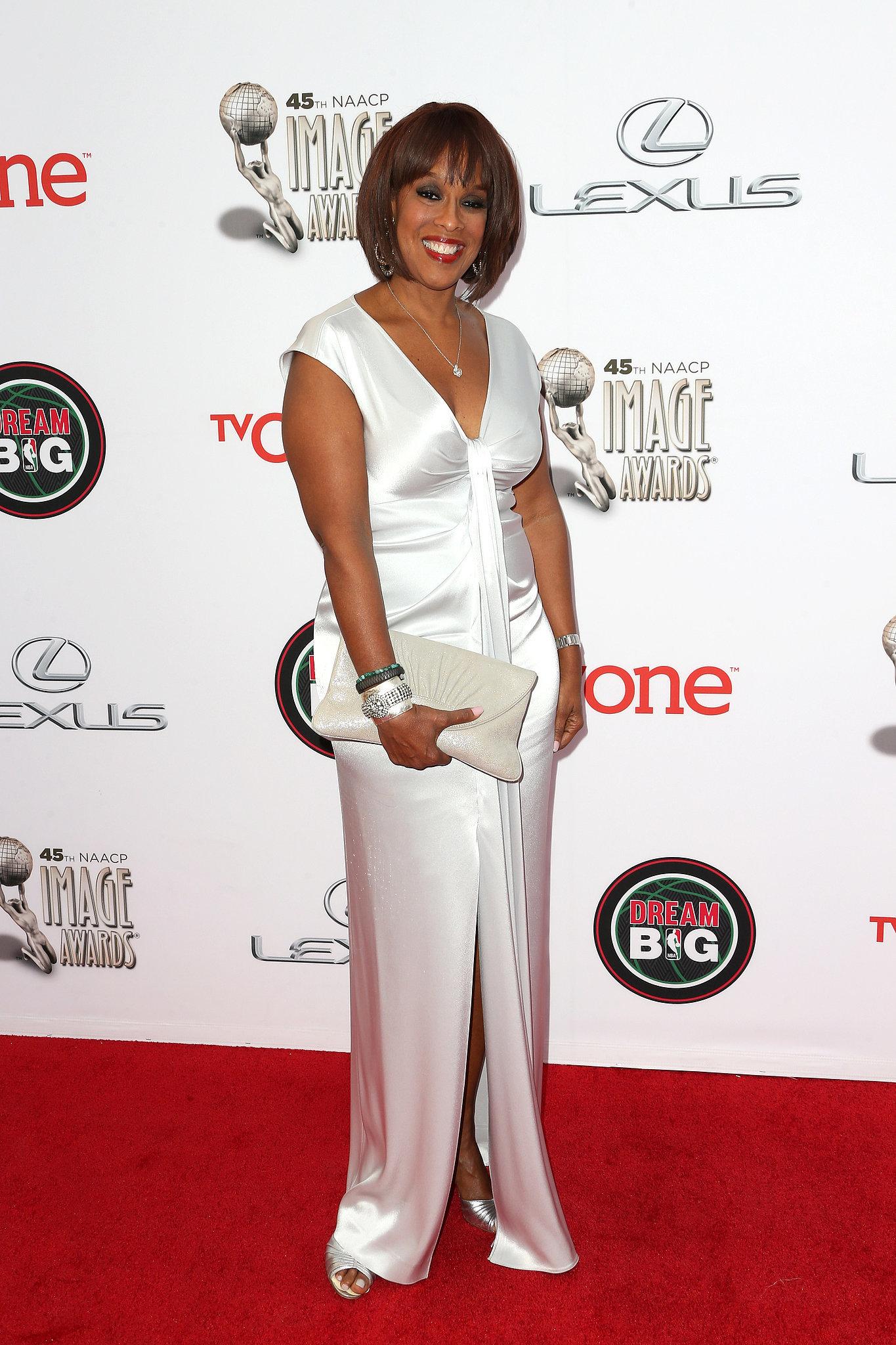 Gayle King showed up to support pal Oprah.