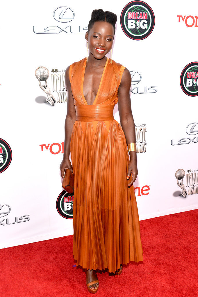 Lupita was already a winner on the red carpet.