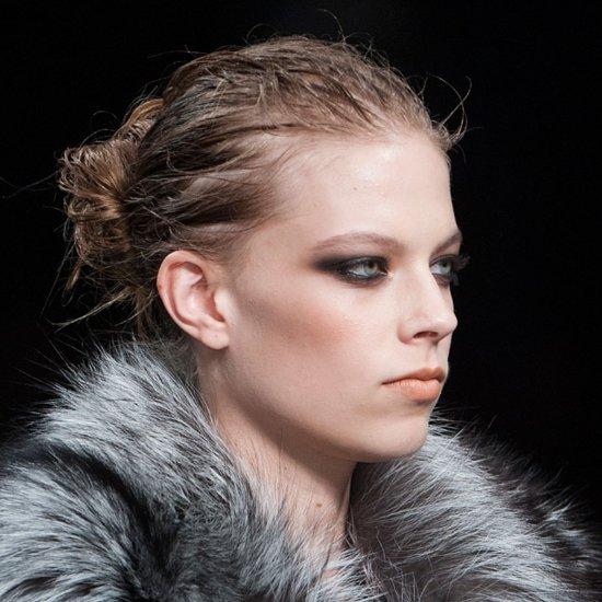 Smoky Eye Party Makeup at Roberto Cavalli Milan Fashion Week