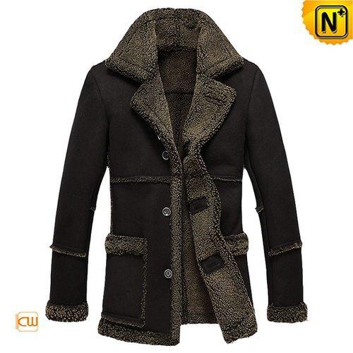 Ranch Sheepskin Shearling Jacket Coat CW878258