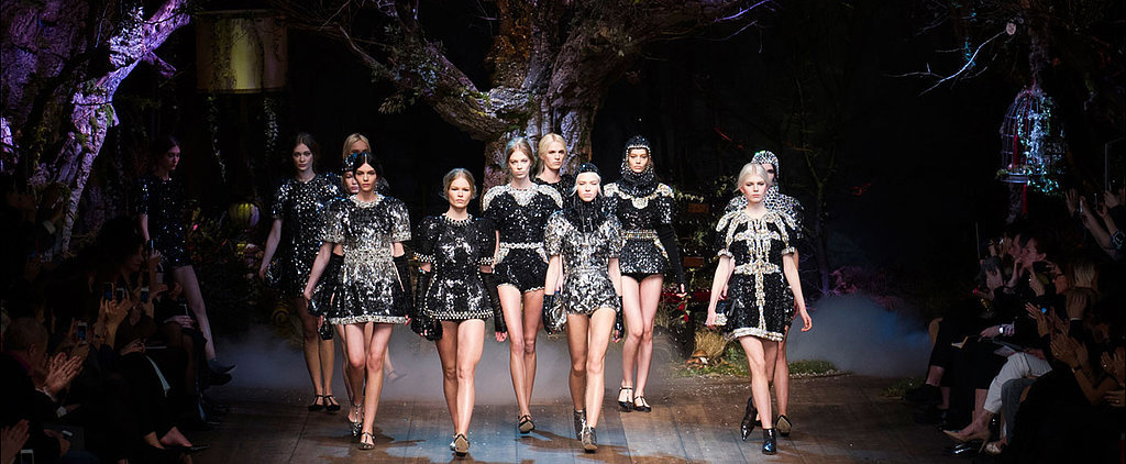 Dolce & Gabbana Fall 2014: A Fairy Tale Come to Life
