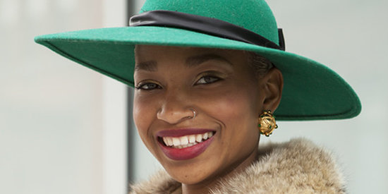 Ni'ma Ford, Fashion Stylist & Model, Shares Her Secret For Incredibly Smooth Lips