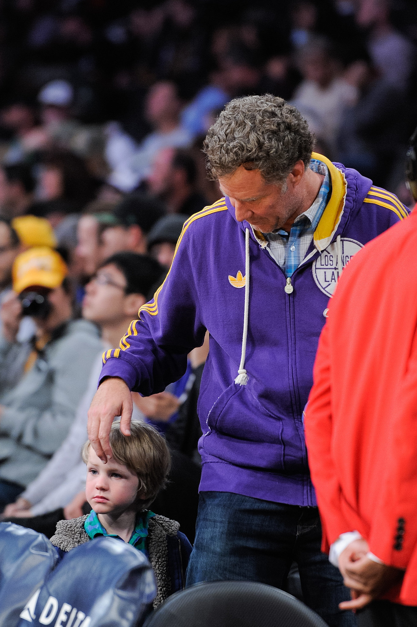 Ellen Pompeo and Will Ferrell Watched History Be Made Last Night