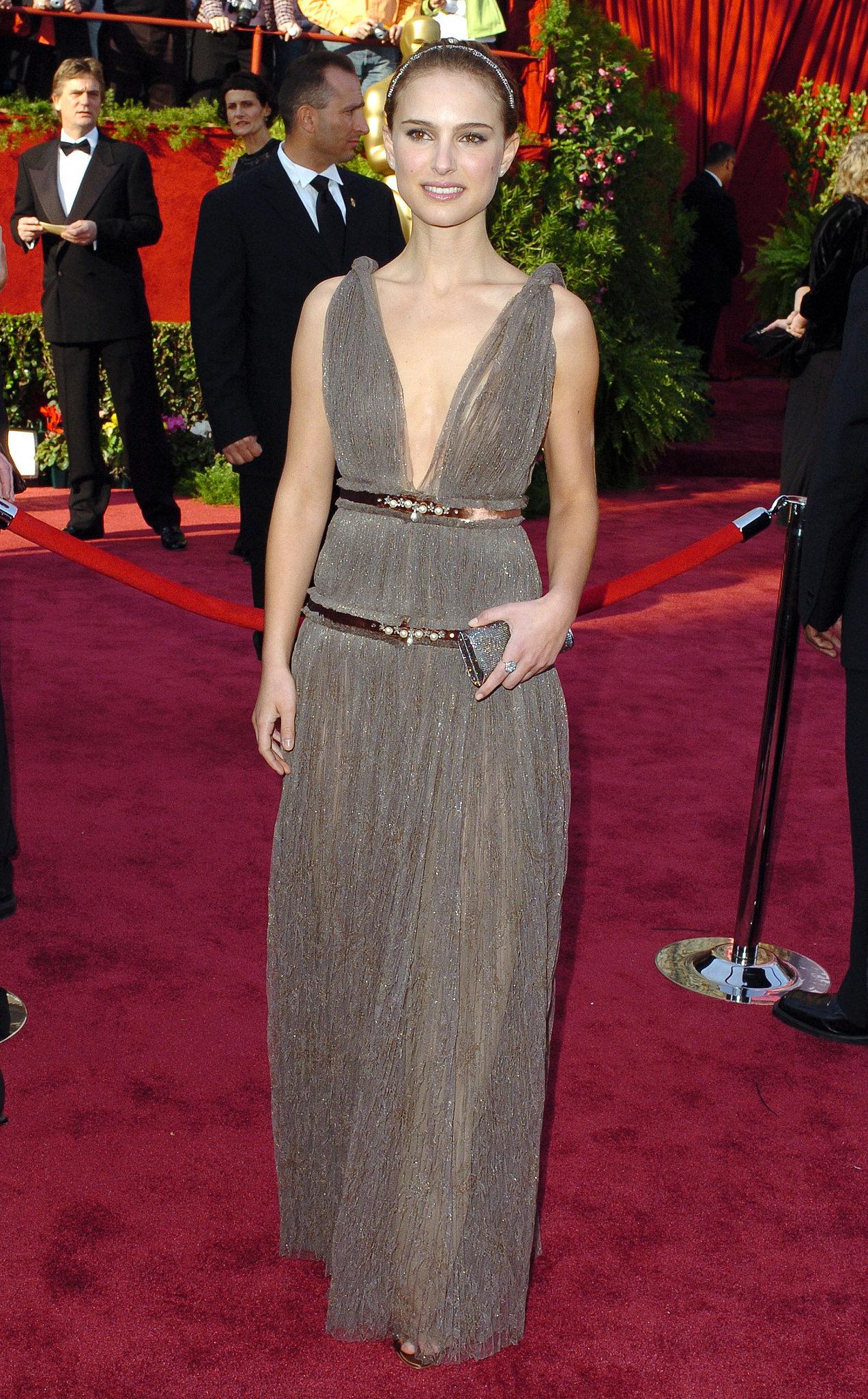 Natalie Portman At The 2005 Academy Awards 30 Iconic
