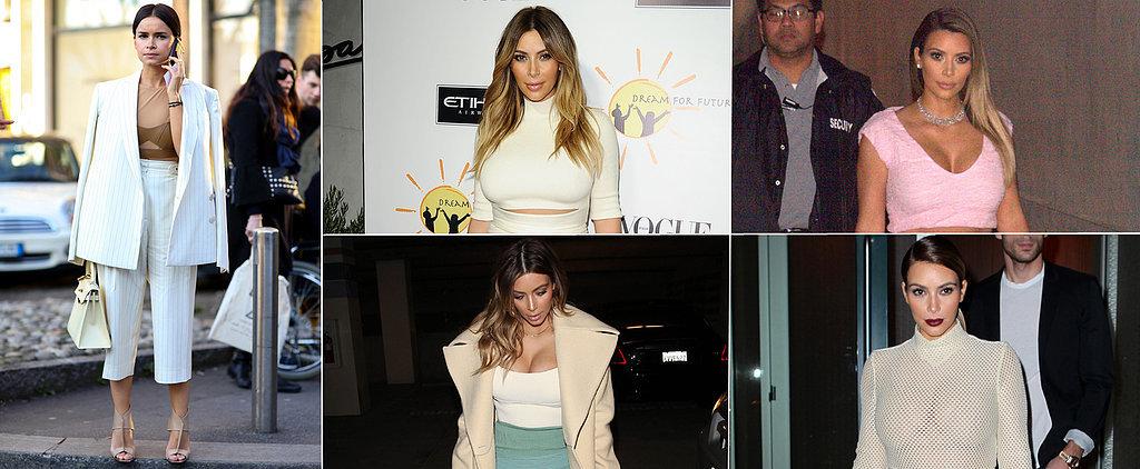 Has Miroslava Been Inspired by . . . Kim Kardashian?