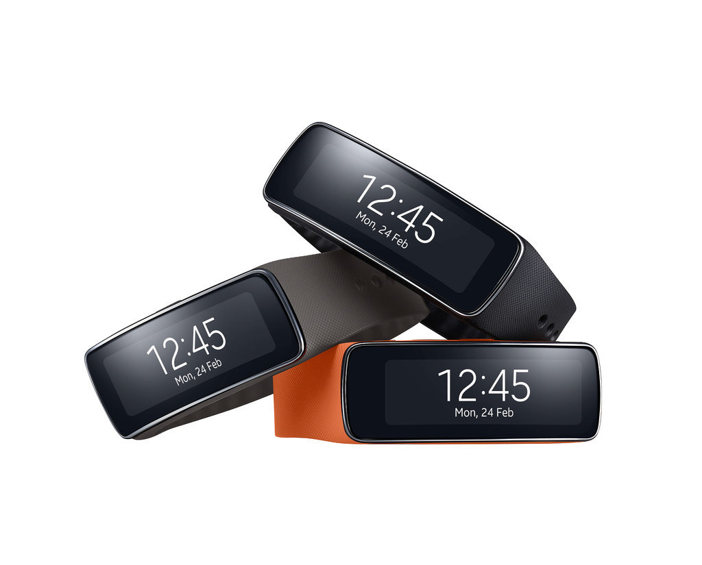Samsung's Gear Fit Activity Tracker and Smartwatch ...
