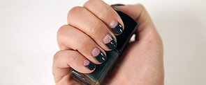 Nail a Half-Moon Manicure With This Easy DIY Trick
