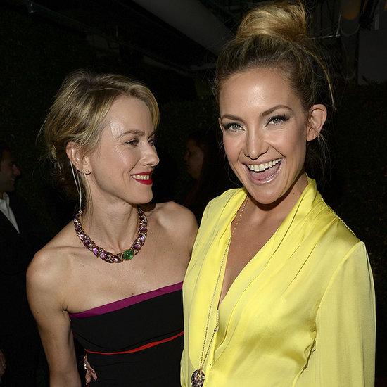 Kate Hudson and Naomi Watts at BVLGARI Decades of Glamour