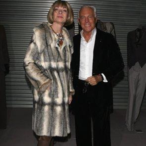 Anna Wintour Skips Giorgio Armani