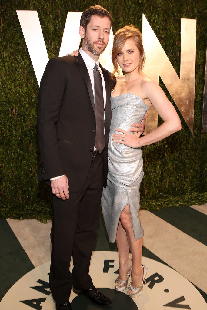 Amy and Darren got all glammed up for the 2012 Vanity Fair Oscars party.